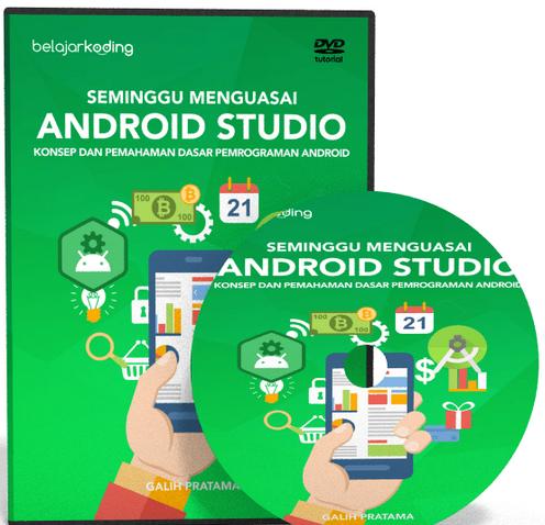 Video Tutorial Seminggu Menguasai Android Studio