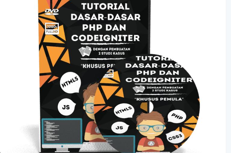 Video Tutorial Dasar-Dasar PHP Dan Codeigniter Untuk Pemula