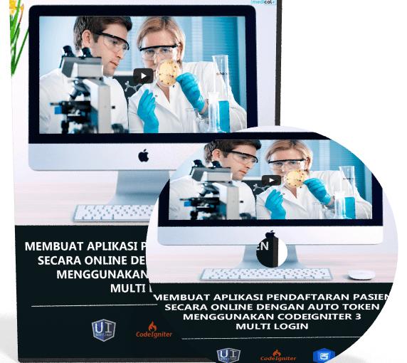 Video Tutorial Membuat Aplikasi Pendaftaran Pasien Dengan Codeigniter 3